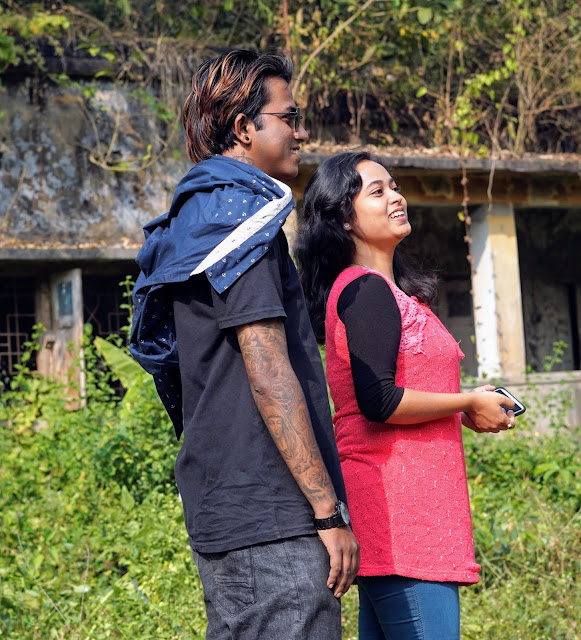 Sourajit Saha With Rituparna Saha 3