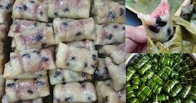 สูตรข้าวต้มมัดหรือข้าวต้มผัด เครื่องแน่น หวาน มัน อร่อย