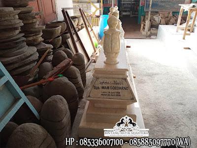 Model Bokoran Tumpuk Marmer, Model Makam Muslim, Kijing Marmer Tulungagung