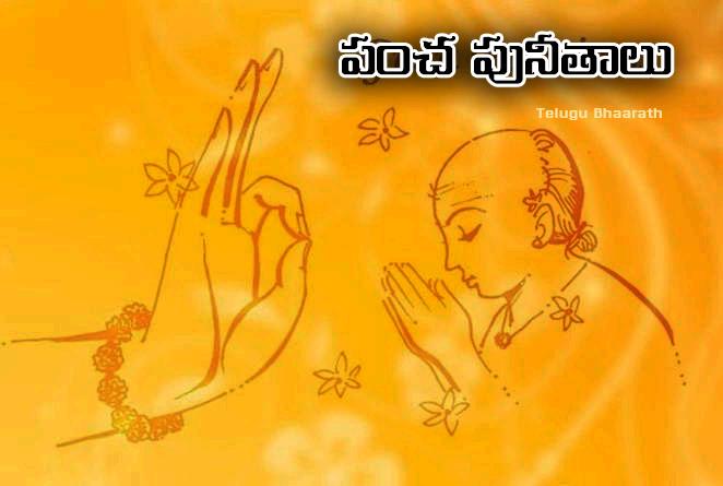 పంచ పునీతాలు - Pancha punitalu