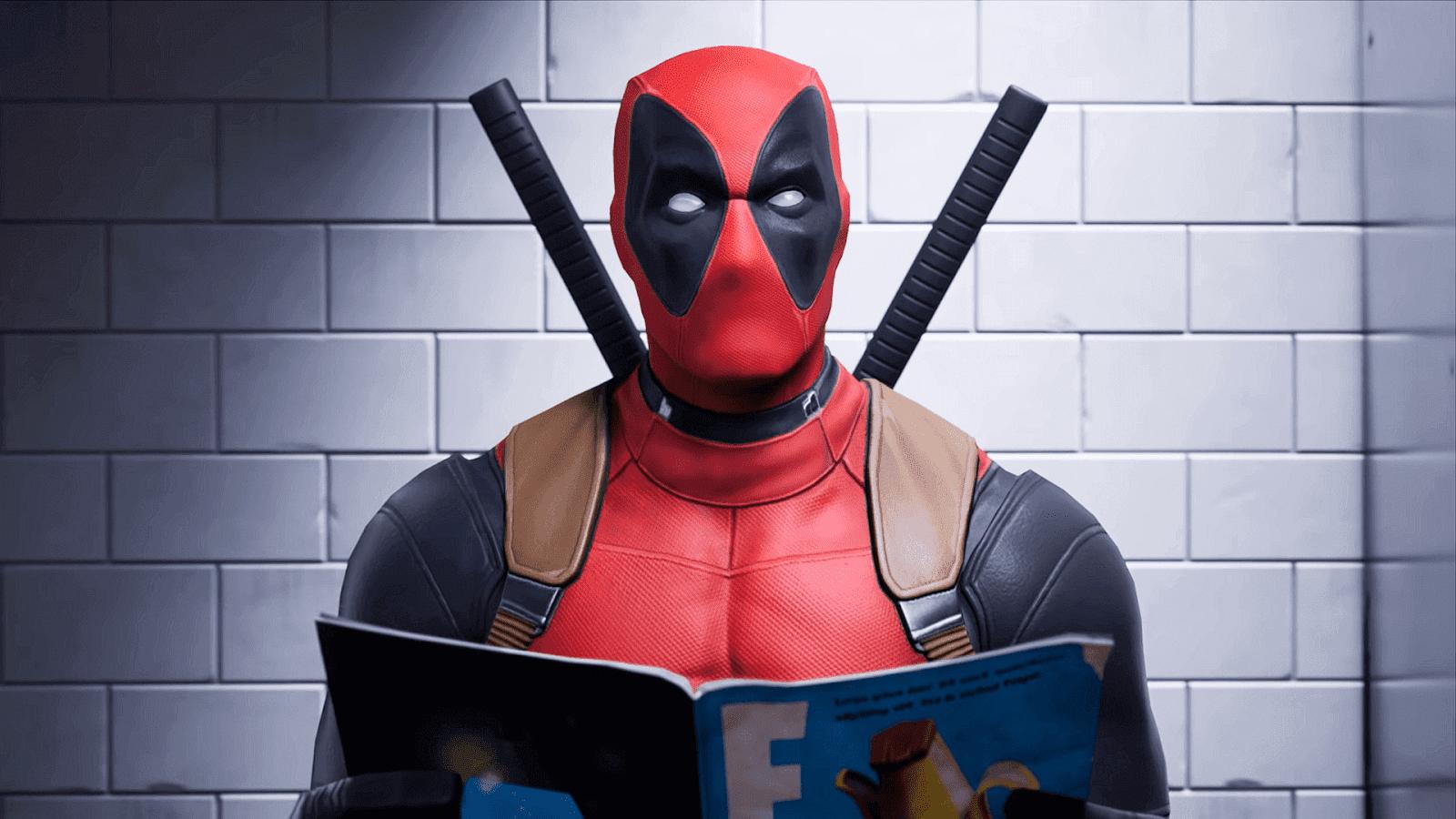 Deadpool Kini Hadir di Fortnite