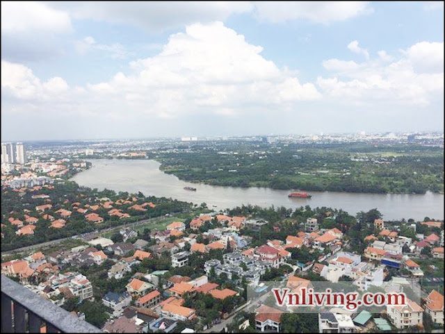 2 Bedrooms for rent unfurnished in Tower 4 Masteri Thao Dien brandnew apartment