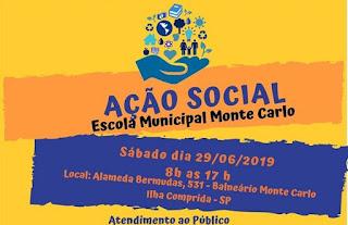OAB- Subseção Iguape e OAB- CAASP promovem Ação Social, na Ilha, no sábado 29/06