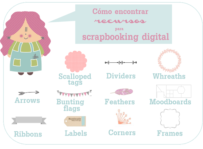palabras recursos gratuitos digitales freebies