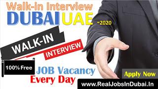 Walk in interview in Dubai - UAE 2020