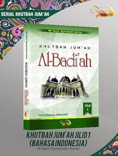 Buku Khutbah Jum'ah Al Badi'ah Jilid 1