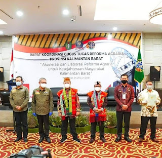 Rapat Koordinasi Gugus Tugas Reforma Agraria