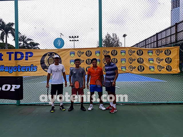 Atlet Tenis PON Bengkulu Dominasi Kejurnas BNTP Tennis Tournament  Dunlop Elite Club Tennis Circuit Seri 1