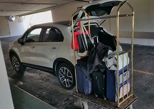 Packing up the 500X