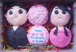 Cupcake Ulang Tahun dan Anniversary Unik Cantik Murah 2017