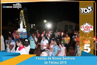 Fé e Devoção marcam o encerramento do Festejo de Nossa Senhora de Fátima em Coroatá - Portal Acesso Cristão