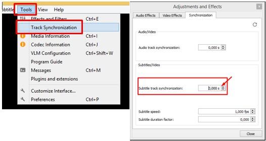 Cara Mempercepat atau Memperlambat Subtitle Film di VLC Laptop