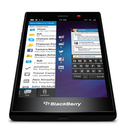 Blackberry Z3 Smart Gesture
