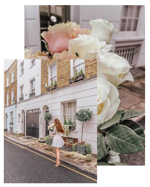 London spring summer fashion white shirt dress