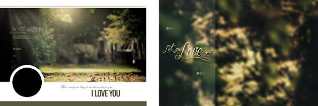 Photoshop Background PSD For Wedding Album Vol-09