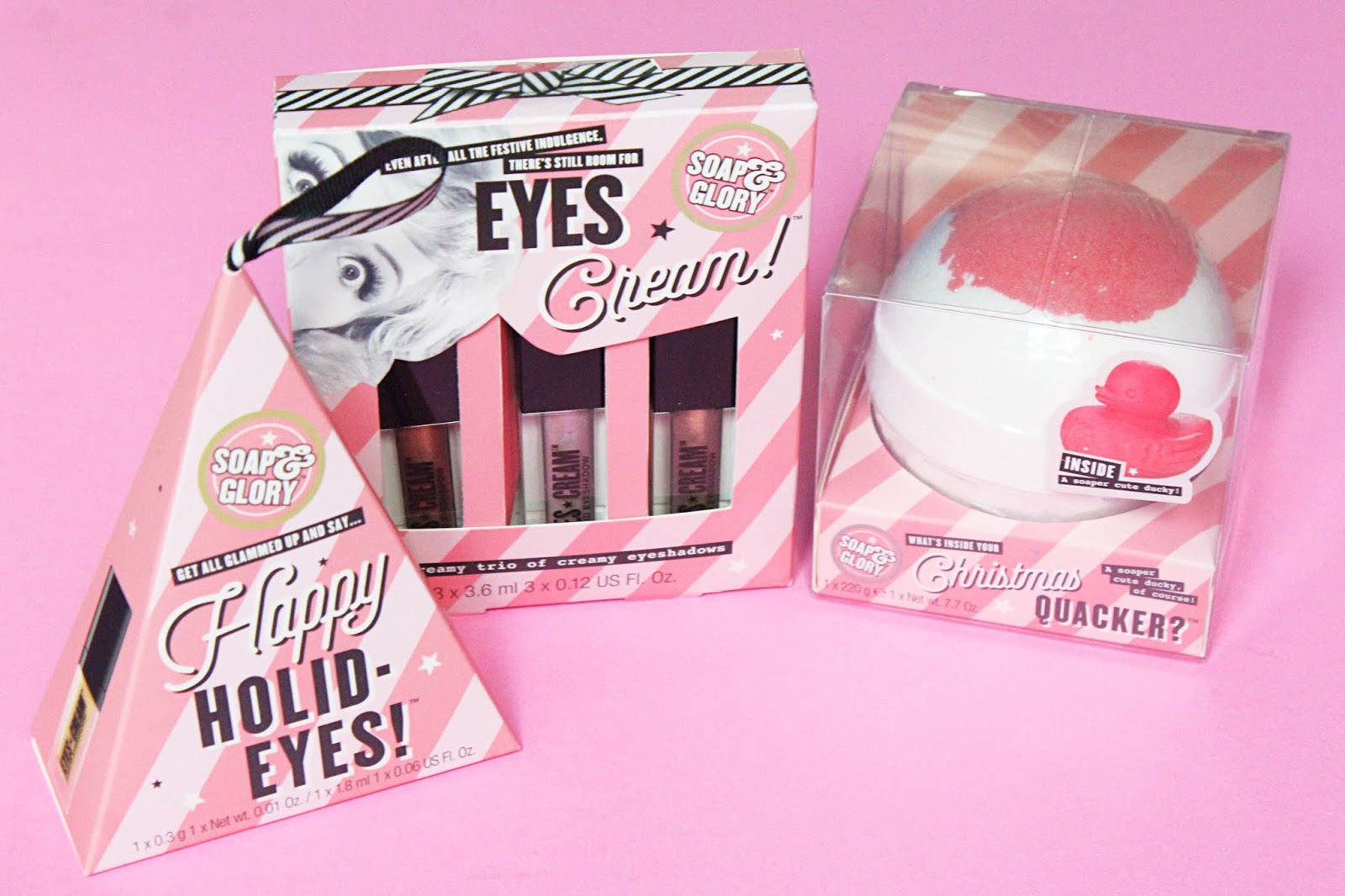 Soap and Glory Christmas 2019