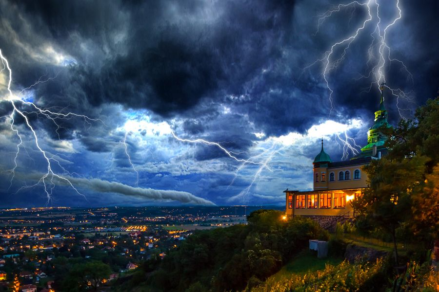 3. Storm at Radebeul by Kenny Scholz