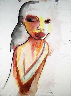 Miracle Mile, pintura de Marilyn Manson.