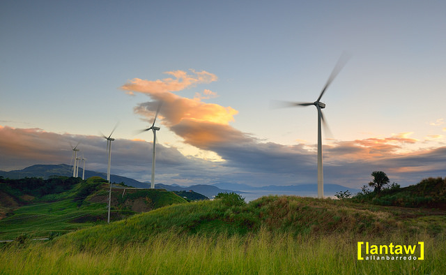pililla wind farm: shooting the restricted areas