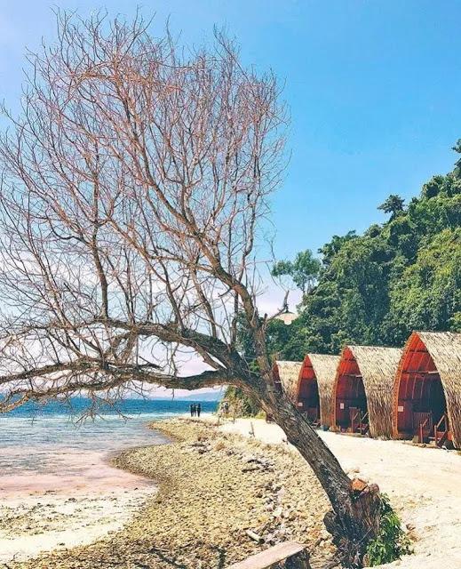 Pulau Tegal Mas, Pantai Keren Di Lampung, Spot Foto Di Pantai Lampung, santuytimes.com