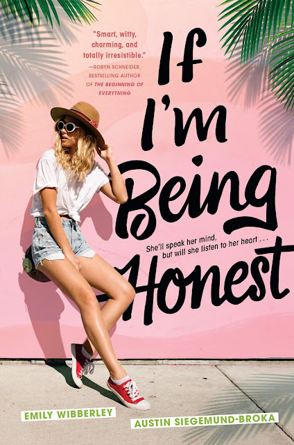 IF I'M BEING HONEST BOOK COVER
