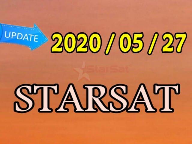 أخر تحديثات أجهزة ستارسات starsat يوم 2020/05/27