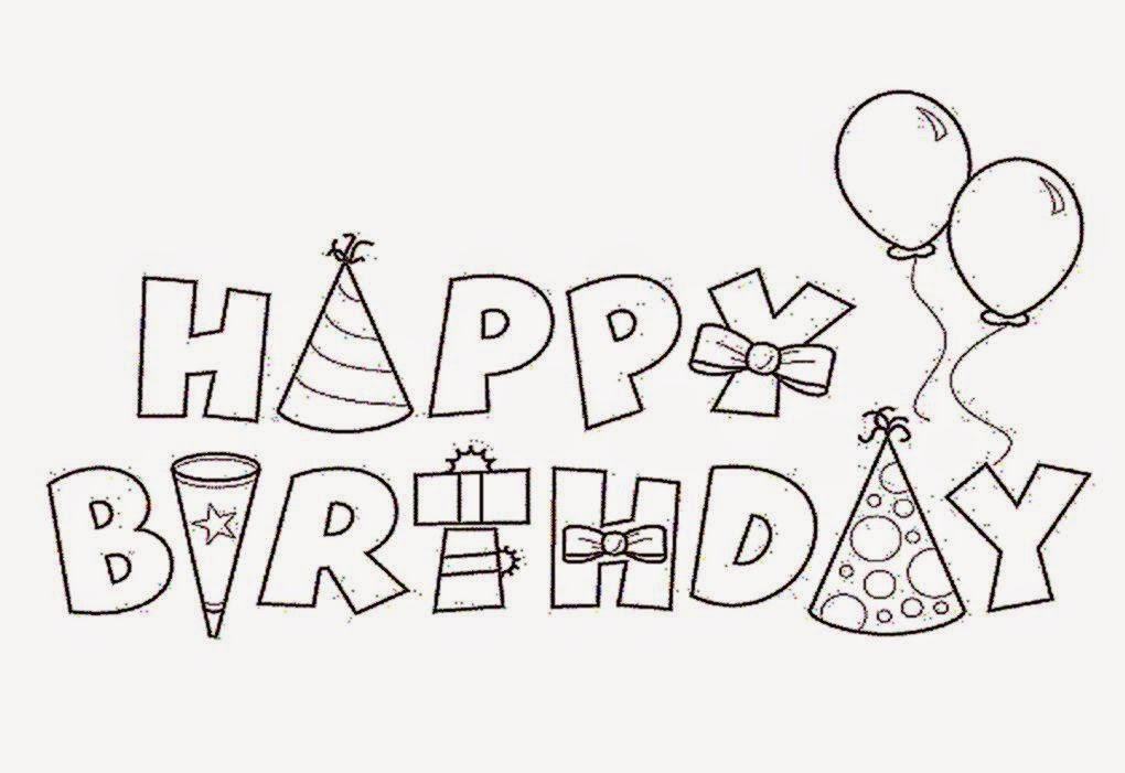 Teacher Birthday Name Coloring Pages