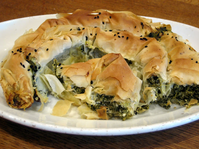 Spinach and Feta borek