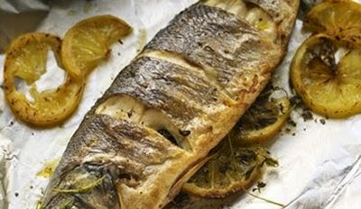 Branzino al cartoccio ricette microonde for Cucinare branzino
