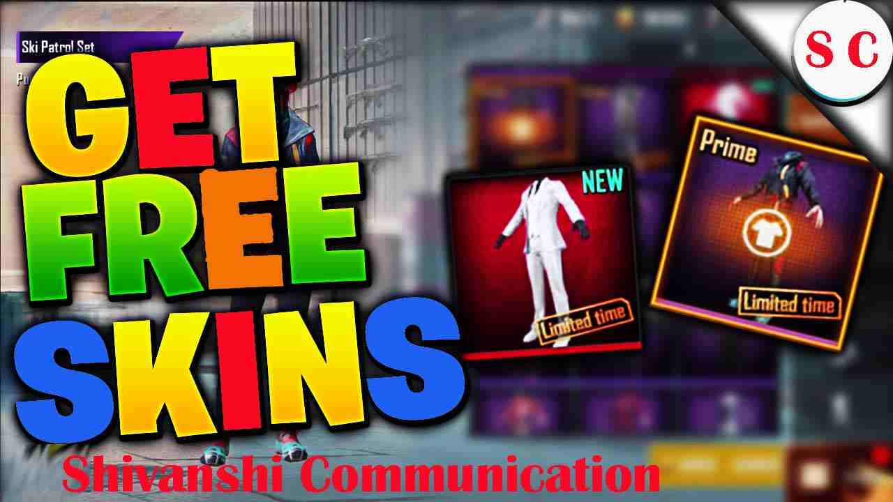 How To Get FREE SKINS In PUBG Mobile (EASY) NO BAN*
