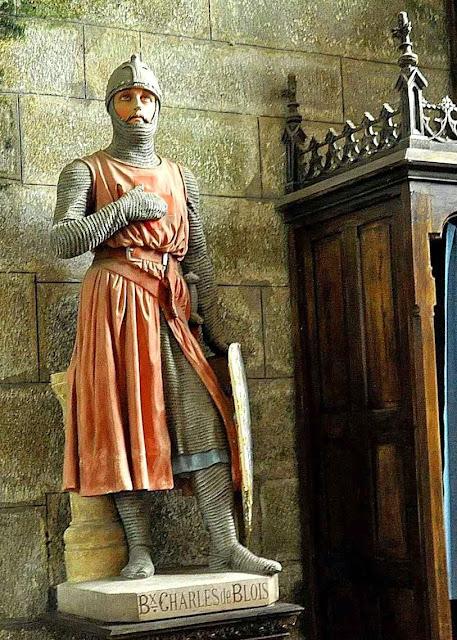 Beato Charles de Blois, duque da Bretanha, igreja Notre-Dame de Bulat-Pestivien