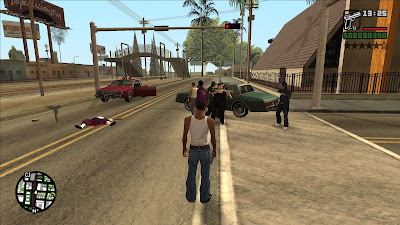 GTA San Andreas Call For Homies Latest Version 2.0 Mod