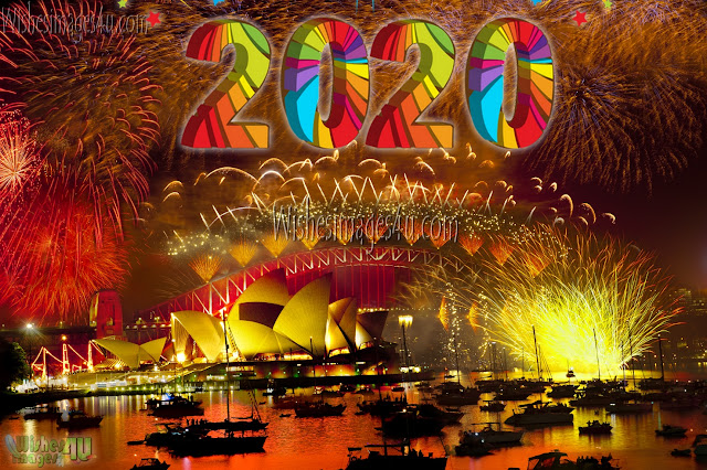 Happy New Year 2020 Fireworks Images In HD Download Free
