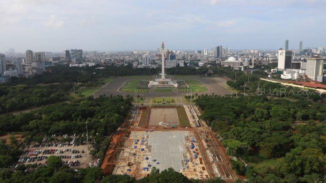Pemprov Bantah Jual 191 Pohon yang Ditebang di Monas: Dibikin Jadi Bangku