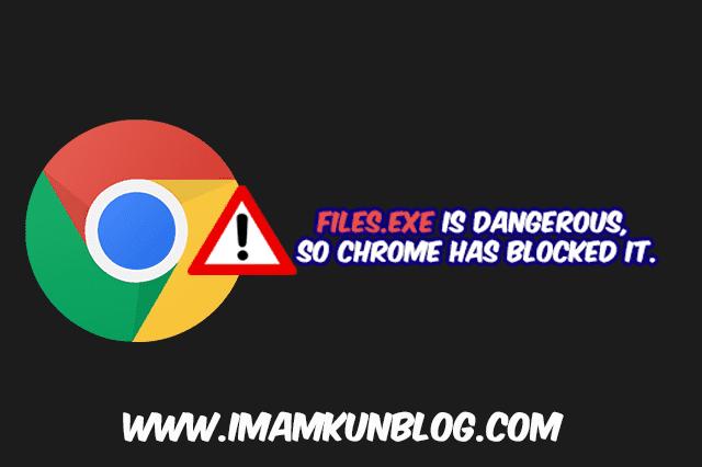 Cara Mengatasi File Download yang di Blocked Google Chrome