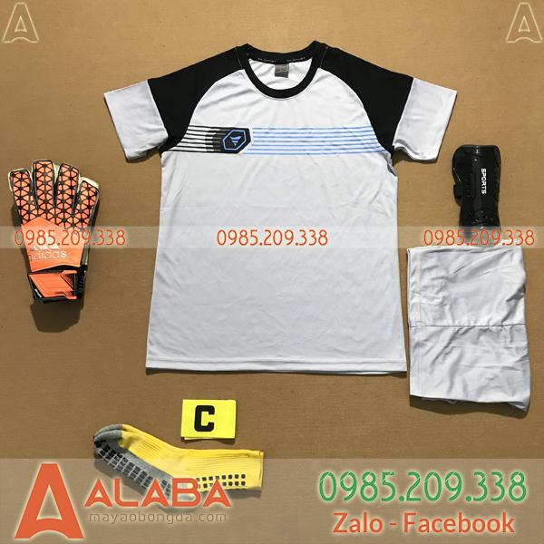 Áo Không Logo Fegan STA05 Kye Màu Trắng Đen