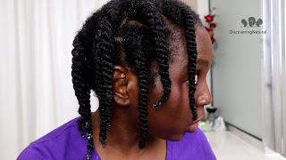 3 Strand Twists  vs. 2 Strand Twist and TwistOut on Natural Hair