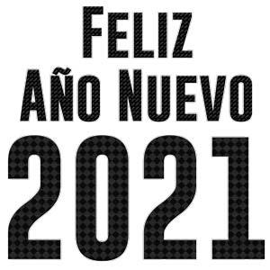 vector feliz año nuevo 2021 png