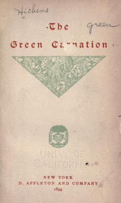 The green carnation Free PDF Novel