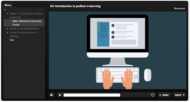 Podium e-learning suite
