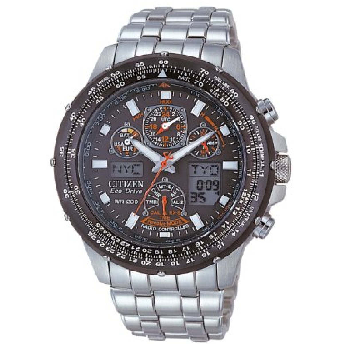 Les montres Citizen éco-drive n'on plus besoin de piles et pourraient durer pour l'éternité.
