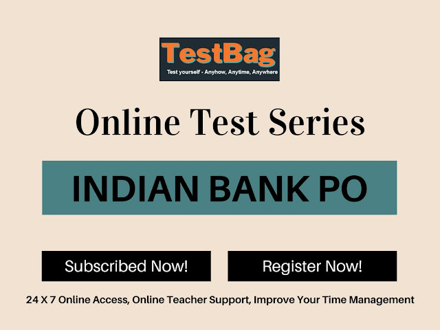 Indian Bank PO Prelims Mock Test