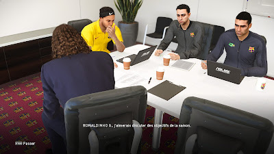 PES 2021 ML Coach & Staff Barcelona Fantasy by Matsy Monger