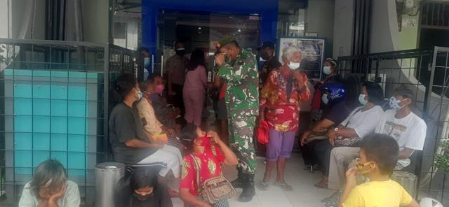 Ops PPKM Skala Micro Patuh Toba 21 Dilaksanakan Personel Jajaran Kodim 0207/Simalungun