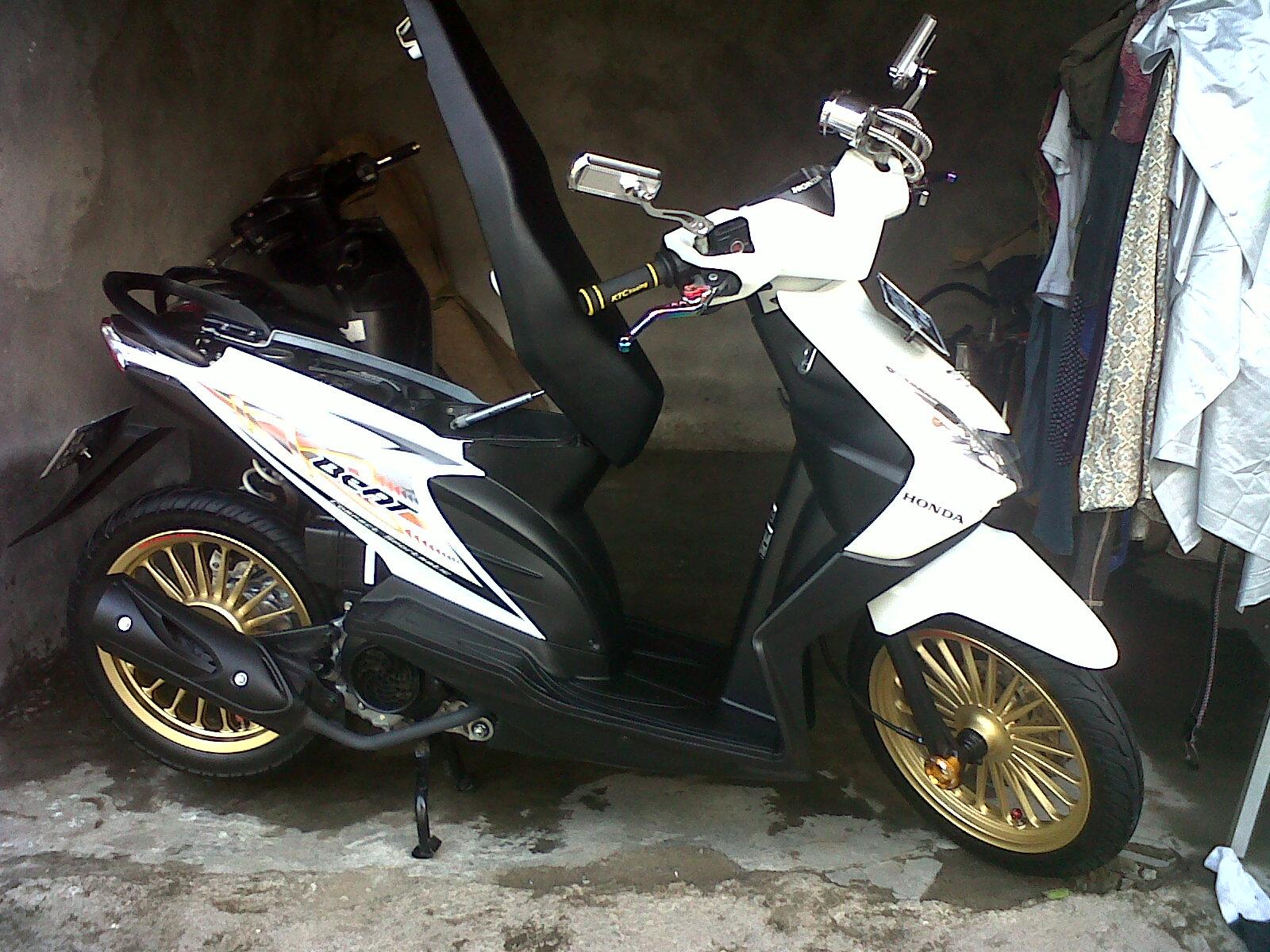 Modifikasi Honda Beat Karbu Thailook Mobiliobaru
