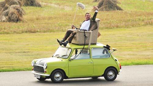 Mr. Bean Kursi dan Mobil