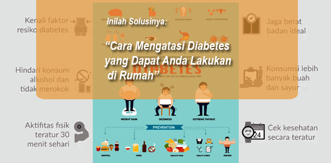 4 Solusi Cara Mengatasi Diabetes yang Dapat Anda Lakukan di Rumah
