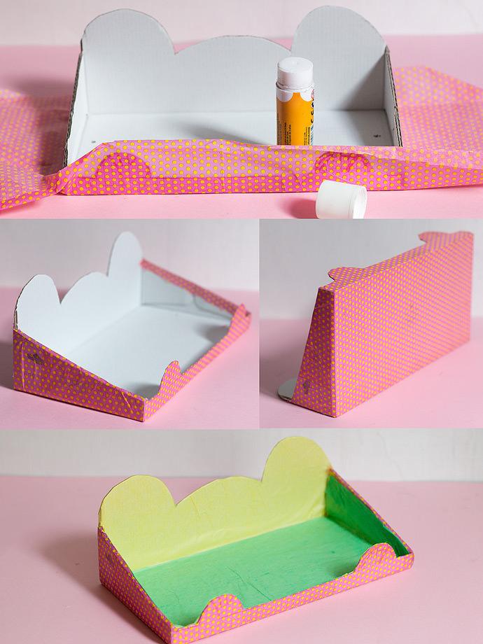 10 ideas para reutilizar cajas de zapatos - Decorar una caja de zapatos para ninos ...