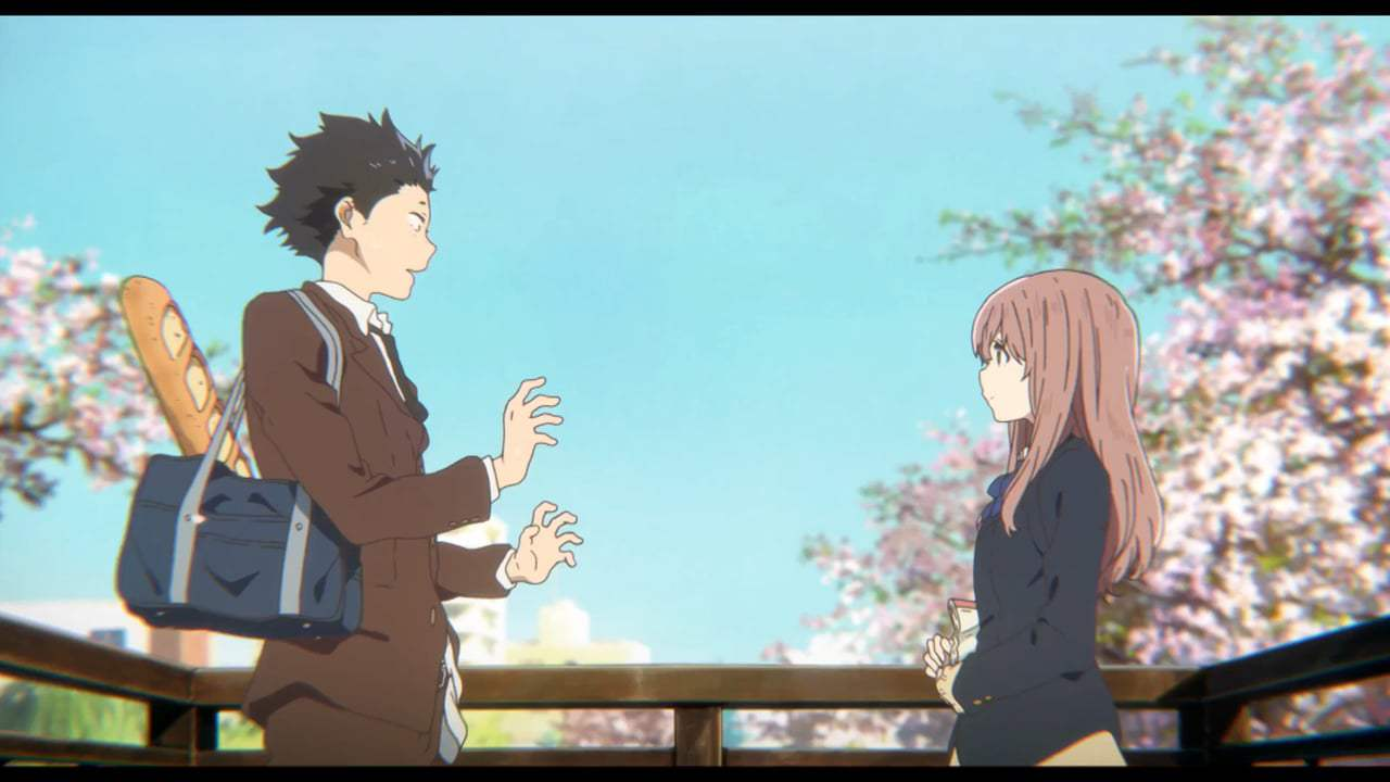 Review Anime Movie Koe No Katachi  -  Cukup Hati Yang Berbicara