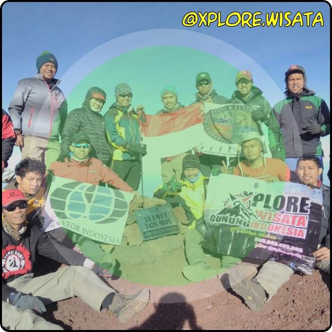 Trekking Gunung Slamet - Senior Eksekutif